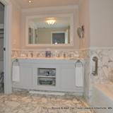 Bathroom on the Ziva side