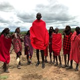 Masai jumping contest