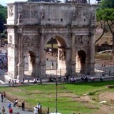 Hadrian's Arch Rome, Italy