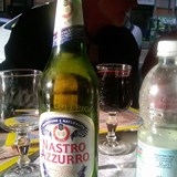 Italian beer......yum!