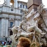 Piazza Navono Rome, Italy