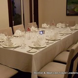 Large table options for an elegant evening