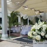 Beautiful wedding area