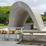 The Monument at Hiroshima Peace Park