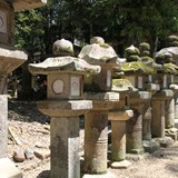 Lanterns of Kasuga Taisha Shrine in Nara