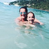 My beautiful daughters in St. Thomas