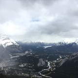 Views from the top of Banff