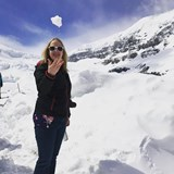 Hanging out on a Glacier