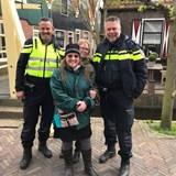 Handsome officers in Volendam