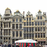 Markt Square in Brussels is incredibly beautiful!