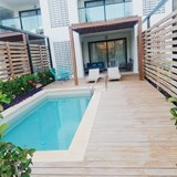 Your own private pool on the patio!