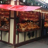 Typical Christmas Market booth