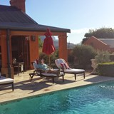 Poolside - La Residence in the Cape Winelands