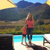 Family time at La Residence in the Cape Winelands