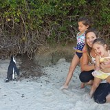 My family enjoying the African Penguins