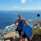 Hiking Lions Head - Top of Lions Head Cape Town