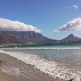 Table Mountain view from Sunset Beach
