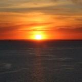 Sunset at Sea, Finland
