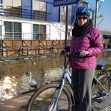 Exploring via bicycle in each port