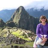 Mary & Stan enjoying the wonder of Maccu Picchu