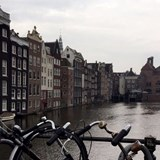 Cloudy day in Amsterdam.