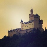 Castle on the Rhine River.
