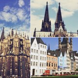 Views of the Cologne Cathedral.