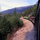 Whitepass and Yukon Railroad from Skagway