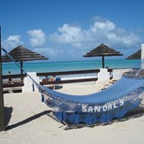 White sand beach and luxury at Sandals Grande.