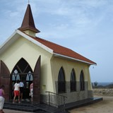 Alto Vista chapel with panoramic view point