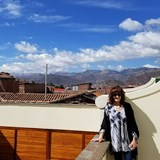 Cusco in the distance