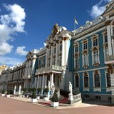 The Catherine Palace, home of Catherine the Great.