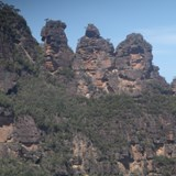Three Sisters in Kings Canyon