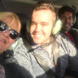 Super Excited taking off over Great Ocean Road