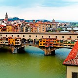 The Arno River, Florence, Italy