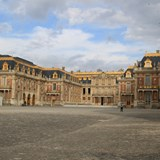 Plance Of Versailles Coutyard