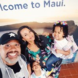 Arriving in Maui!