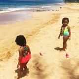 Wailea Beach Fun w/ my girls!