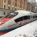 Sapsan high speed train to Moscow
