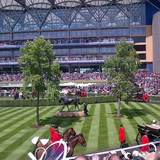 Royal Ascot and the Queen, near Windsor