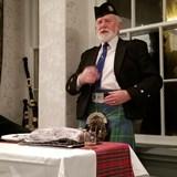 Presentation of a Haggis