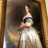 Portrait of a young Queen Victoria