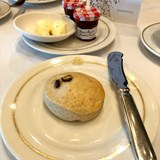 Afternoon Tea - scones, jam, and clotted cream