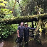 Bushwhacking in the Tongass National Forest
