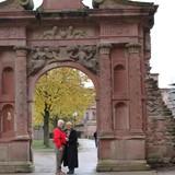 Carol and Bruce at Heidelberg Castle Gate