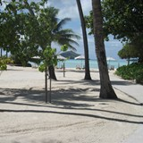 Beach at the Bora Bora Pearl