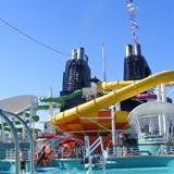 Water park w/ 4 slides