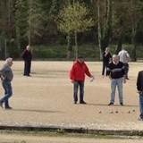Petanque - a typical French pasttime