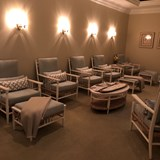 Relaxing area in the spa