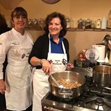 Cooking at Relais & Chateaux Il Falconiere